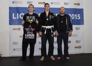 Победа на BJJ турниере LION CROCUS (Москва)