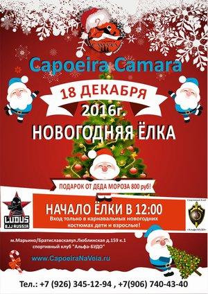 Новогодняя Елка 18 декабря 2016