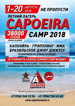 Летний лагерь Capoeira Camp  2018